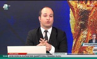 Aykut Kocaman, A Spor'a açıklamalarda bulundu