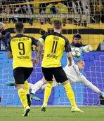 Ter Stegen Dortmund'a geçit vermedi!