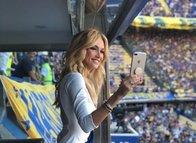 Victoria Lopyreva, Boca Juniors'ı ziyaret etti!