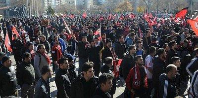 Antep'e destek yürüyüşü