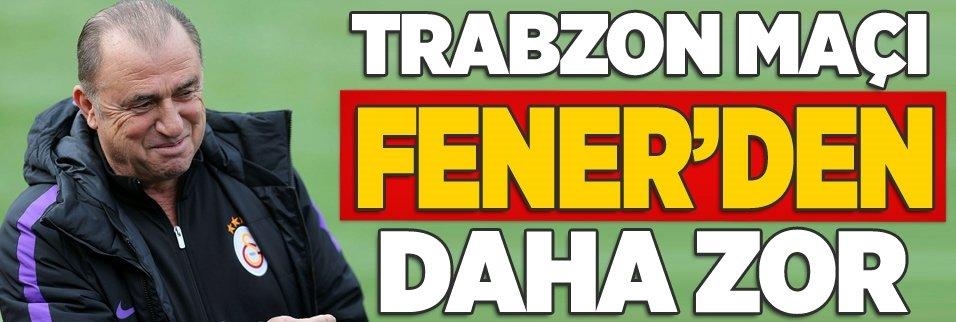 Fenerbahçe'den daha zor