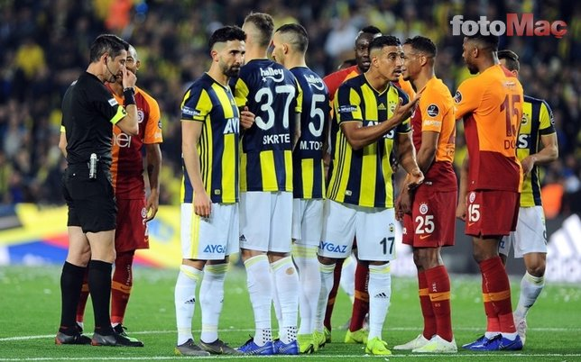 UEFA'dan derbiye inceleme! 'Hakem orada hata yaptı'