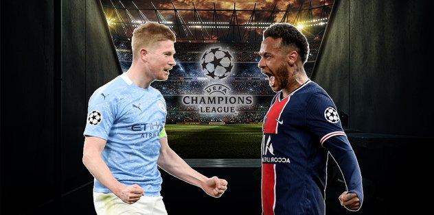 Manchester City - Paris Saint Germain | CANLI