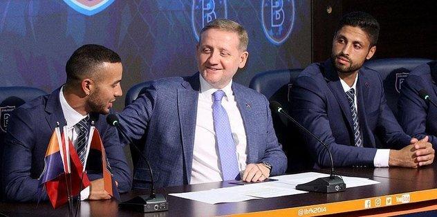 Basaksehir sign Kerim Frei, Manuel da Costa