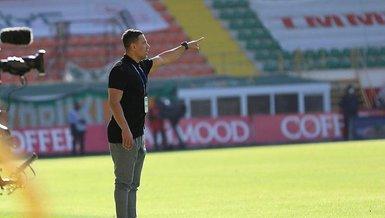 Alanyaspıor Teknik Direktörü Çağdaş Atan: Oyunun başından sonuna kadar maçın hakimi bizdik