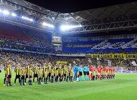 Fenerbahçe - Benfica maçından görüntüler