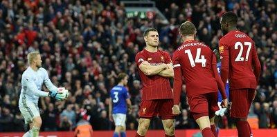 Liverpool'un 59 yıllık rekoru kırmasına 3 galibiyet kaldı