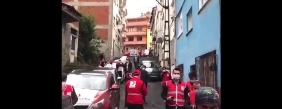 Türk Kızılayı'nın motivasyon şarkısı Trabzonspor marşı