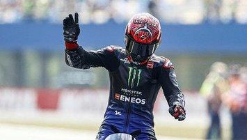 MotoGP Hollanda Grand Prix'sinde kazanan Quartararo!