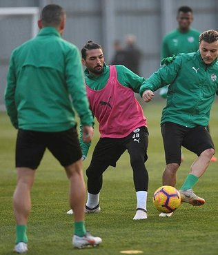 Bursaspor'da Medipol Başakşehir maçı hazırlıkları