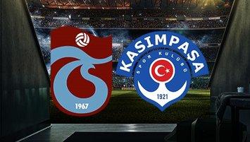 Trabzonspor-K.Paşa maçında 11'ler belli oldu!