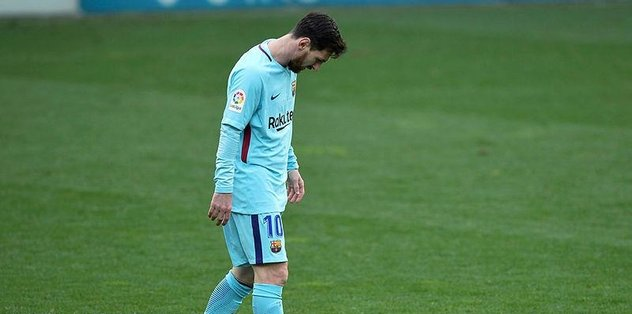 Messi de olsan atamazsın bazen!