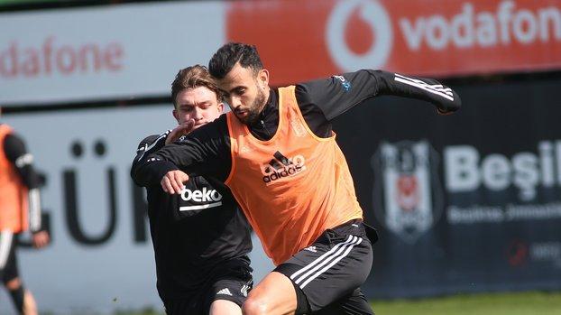 Son dakika spor haberi: Beşiktaş Yeni Malatyaspor maçı hazırlıklarına başladı! Aboubakar ve Rosier... #