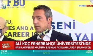 Ali Koç'tan transfer ve harcama limiti açıklaması!