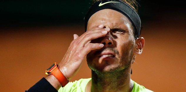 Nadal Roma Açık Turnuvası'na veda etti!