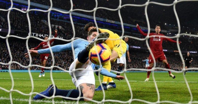 Premier Lig'de tarihi an! Herkes bunu konuşuyor... Manchester City - Liverpool