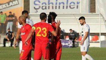 Kayseri Kosova şampiyonuyla yenişemedi
