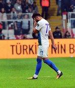 Beşiktaş - Rizespor maçında kırmızı kart