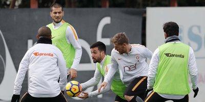 Galatasaray'da Akhisarspor hazırlıkları