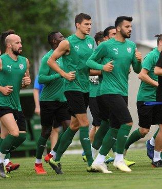 Bursaspor'da Evkur Yeni Malatyaspor maçı hazırlıkları