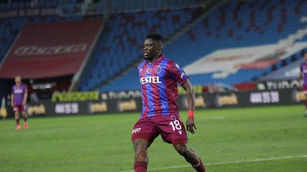 Son dakika Trabzonspor transfer haberleri: Caleb Ekuban için menajeri arayışta