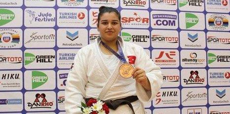 Avrupa Açık Judo Kupası'nda Kübranur Esir beşinci oldu