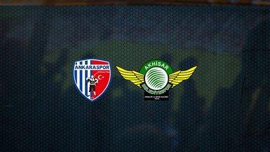 Ankaraspor - Akhisarspor maçı ne zaman, saat kaçta ve hangi kanalda canlı yayınlanacak? | Süper Lig