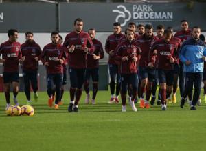 Trabzonsporda Kayserispor maçı hazırlıkları başladı