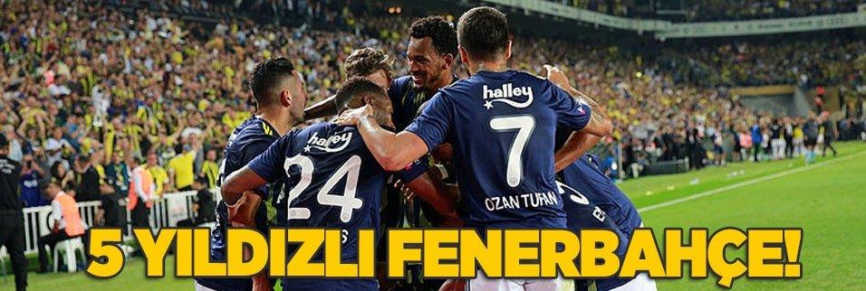 5 yıldızlı Fenerbahçe!