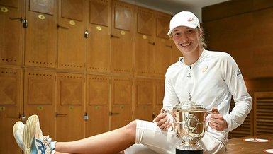 Kadınlar tenisinin yükselen yıldızı Iga Swiatek!