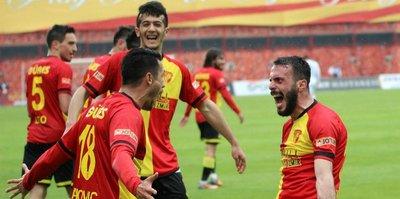 Göztepe'den müthiş zafer