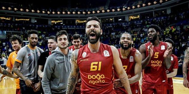 Fenerbahçe Beko 75-80 Galatasaray Doğa Sigorta | MAÇ SONUCU