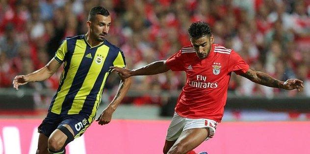 Benfica'ya 1 avans! Benfica 1-0 Fenerbahçe maç sonucu