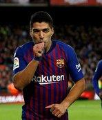 El Clasico'da Messi yoksa, Suarez var