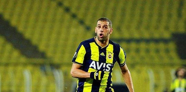 Fenerbahçe'de Islam Slimani gol orucuna son verdi
