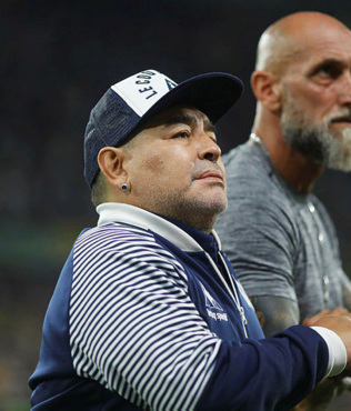 Maradona, Gimnasia ile nikah tazeledi!