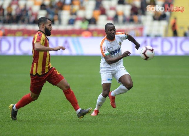 Yeni Malatyaspor - Alanyaspor maçından kareler