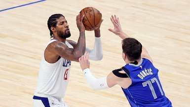 Son dakika spor haberi: Dallas Mavericks-Los Angeles Clippers: 97-104 | MAÇ SONUCU