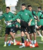 Konyaspor'da Fenerbahçe mesaisi başladı