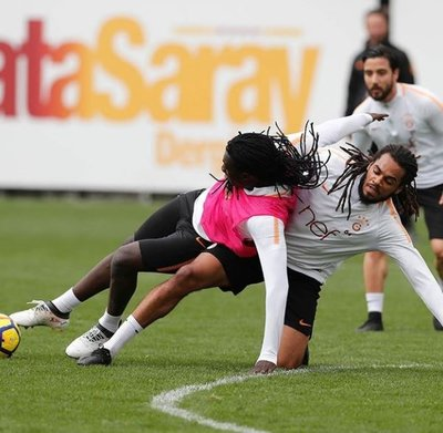 G.Saray, Trabzonspor hazırlıklarını sürdürdü