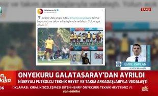 Henry Onyekuru Galatasaray'dan ayrıldı!