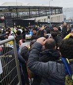 Fenerbahçe taraftarı Vodafone Park'ta