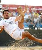 Plaj futbolunda şampiyon belli oldu!