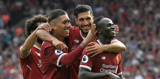 Liverpool gol oldu yağdı