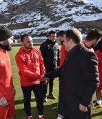 Başkan Çimen, Gümüşhanespor'u ziyaret etti