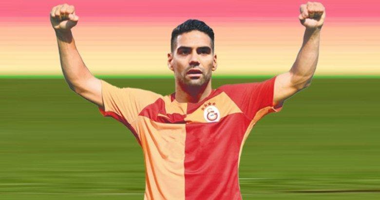 Galatasaray Falcao'ya bugün kavuşuyor!