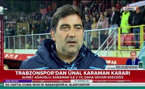 """""""Karaman Trabzonspor'u çalıştırmayı sonuna kadar hak etti"""""""