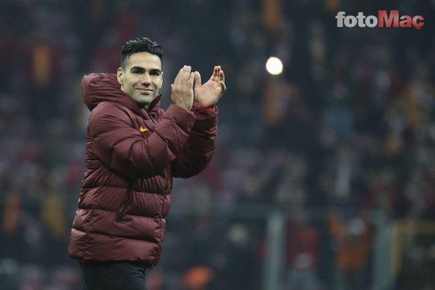 Galatasaraylı Falcao için transfer ateşini yaktılar!.
