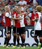 Feyenoord 5'te 5 yaptı