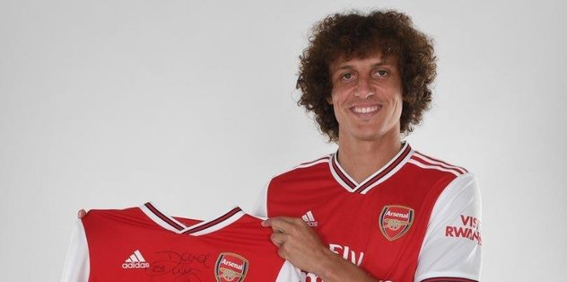 David Luiz Arsenal'a imza attı